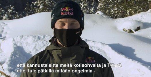 Facebook: Arctic Rally FInland - Kalle Rovenperän terveiset