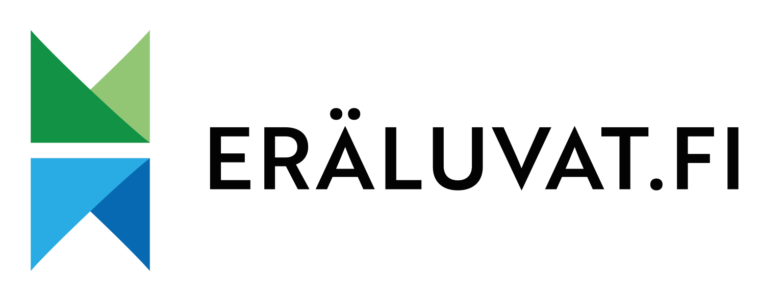 Framsidan av eräluvat.fi