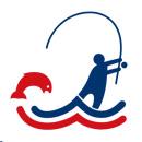 Suomen Vapaa-ajankalastajien keskusjärjestön tunnus